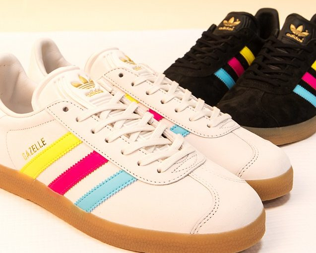 Adidas Originals Gazelle Colour Stripe