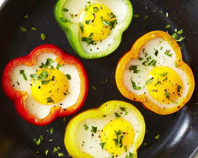 Flower Power Sunny-Side Eggs